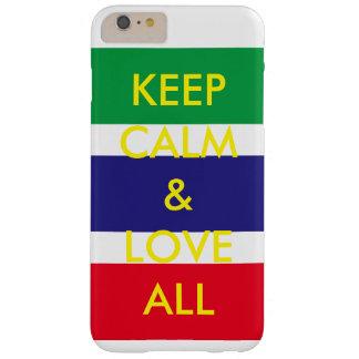 ケースは穏やかな愛をすべての文字保ちます BARELY THERE iPhone 6 PLUS ケース