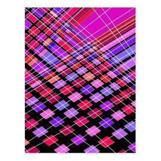 ケーブルおよび形 ポストカード