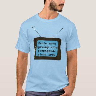 ケーブルのニュース Tシャツ