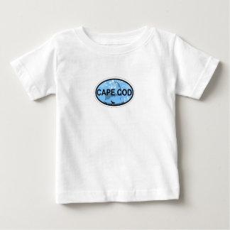 ケープコッドの楕円形の設計 ベビーTシャツ