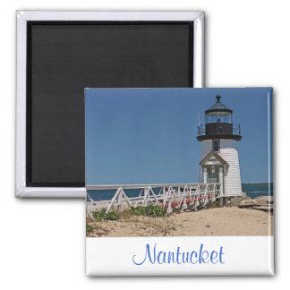 ケープコッドの灯台、Nantucket MAの磁石 マグネット
