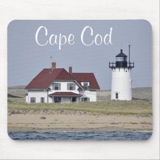 ケープコッドの灯台Provincetown MAのマウスパッド マウスパッド