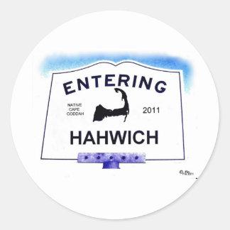 ケープコッドの町、Hahwich (「局外者」へのHarwich) ラウンドシール