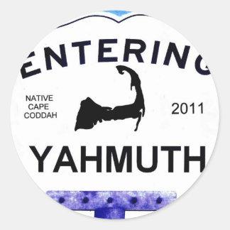 ケープコッドの町、Yahmuth (「局外者」へのYarmouth) ラウンドシール