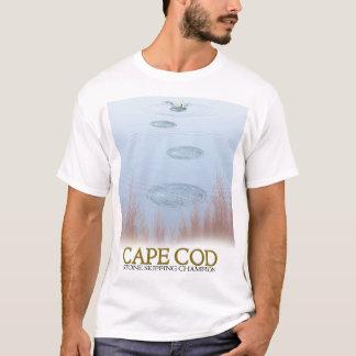 ケープコッドの石造りの省略のチャンピオン Tシャツ