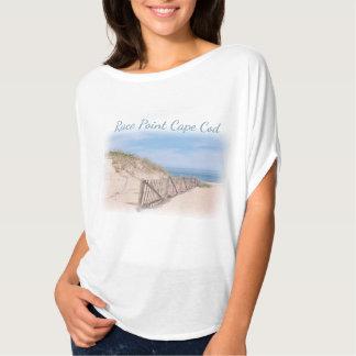 ケープコッドの競争ポイントビーチ Tシャツ