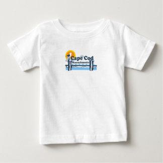 """ケープコッドの""""学校代表""""の設計 ベビーTシャツ"""