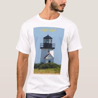 ケープコッドのHyannis港の灯台 Tシャツ