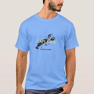ケープコッドのMasschusettsのロブスターのTシャツ Tシャツ
