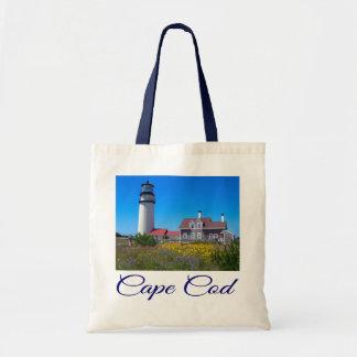ケープコッドマサチューセッツ高地の灯台Totebag トートバッグ