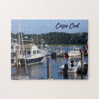 ケープコッド港のボート ジグソーパズル