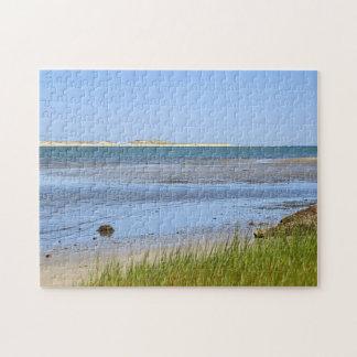 ケープコッド湾の海のビーチ ジグソーパズル