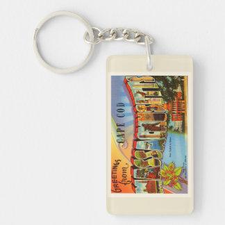 ケープコッド#2マサチューセッツMA古い旅行記念品 キーホルダー