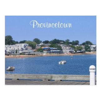 ケープコッド、Provincetownマサチューセッツの郵便はがき ポストカード
