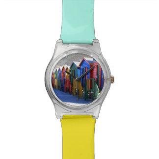 ケープタウンのビーチ小屋 腕時計