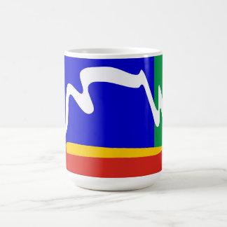ケープタウン都市旗 コーヒーマグカップ