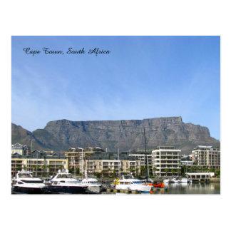 ケープタウン、南アフリカ共和国(テーブル山) ポストカード