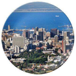 ケープタウン、南アフリカ共和国 磁器プレート