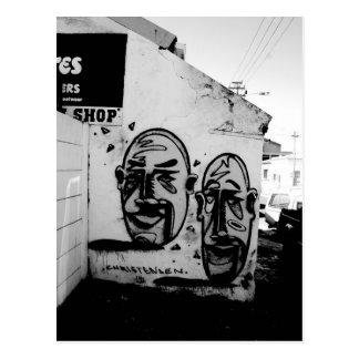 ケープタウン: 2つの多くの顔 ポストカード