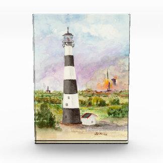 ケープ・カナベラルの灯台ロケットの進水の水彩画 表彰盾