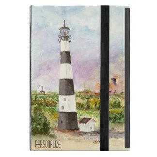 ケープ・カナベラルの灯台ロケットの進水の水彩画 iPad MINI ケース