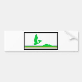 ケープ・ブレトン島(カナダノバスコシア)の旗 バンパーステッカー