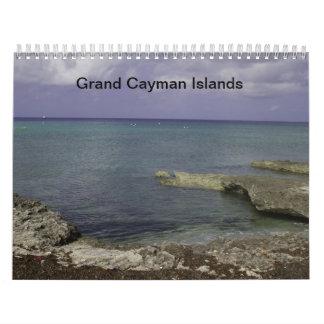 ケーマン諸島のカレンダー カレンダー