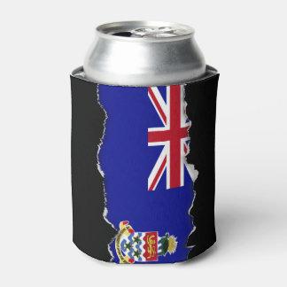 ケーマン諸島の旗 缶クーラー