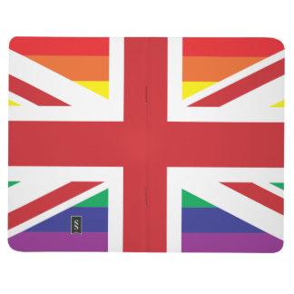 ゲイのイギリスの(イギリスの旗)小型ジャーナル ポケットジャーナル