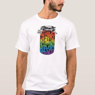 ゲイの権利のティー Tシャツ