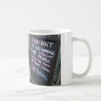 ゲイの権利のマグ コーヒーマグカップ
