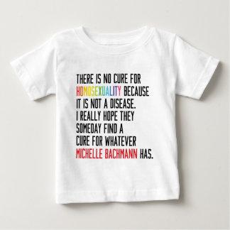ゲイの権利-同性愛-ミシェールBachmann ベビーTシャツ