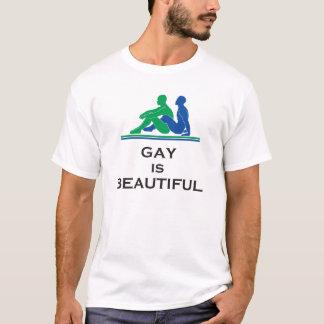 ゲイは美しいです Tシャツ