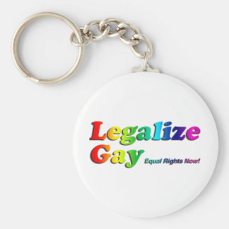 ゲイを法律化して下さい キーホルダー