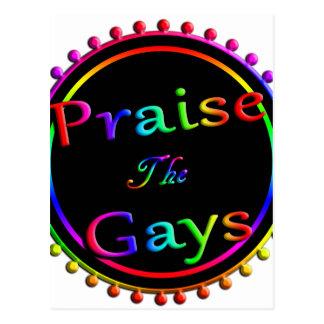 ゲイを賞賛して下さい ポストカード