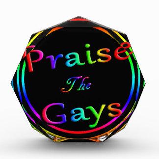 ゲイを賞賛して下さい 表彰盾