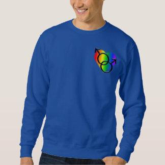 ゲイプライドのスエットシャツの人の同性愛ワイシャツ スウェットシャツ