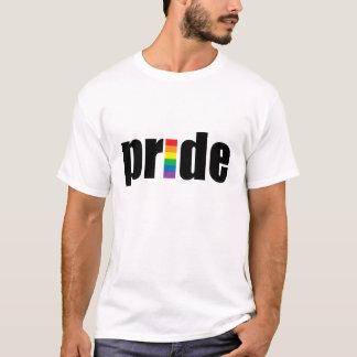 ゲイプライドのティー(人及び女性) Tシャツ