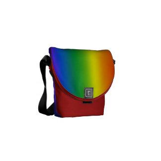 ゲイプライドのバッグの虹愛メッセンジャーバッグ クーリエバッグ