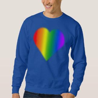 ゲイプライドのワイシャツの同性の虹愛スエットシャツ スウェットシャツ