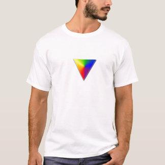ゲイプライドの三角形 Tシャツ