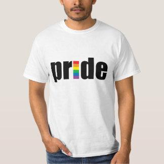 ゲイプライドの価値Tシャツ Tシャツ