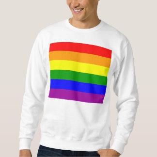 ゲイプライドの旗 スウェットシャツ