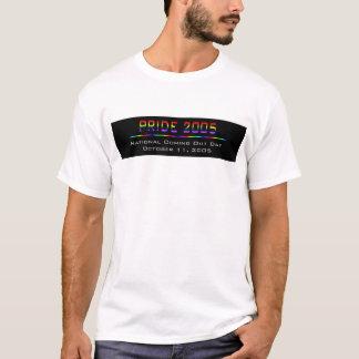 ゲイプライド2005年 Tシャツ