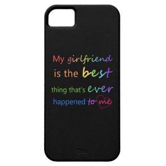 """ゲイプライド- """"私のガールフレンドあります""""は iPhone SE/5/5s ケース"""