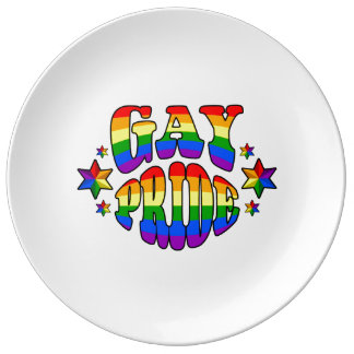 ゲイプライド: LGBT 磁器プレート