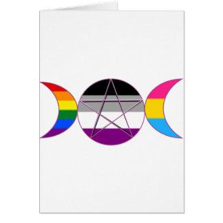 ゲイプライドDemi鍋の女神の記号 カード