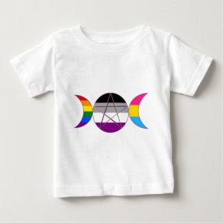 ゲイプライドDemi鍋の女神の記号 ベビーTシャツ
