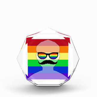 ゲイ同志の結婚の具象 表彰盾