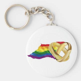 ゲイ同志の結婚 キーホルダー